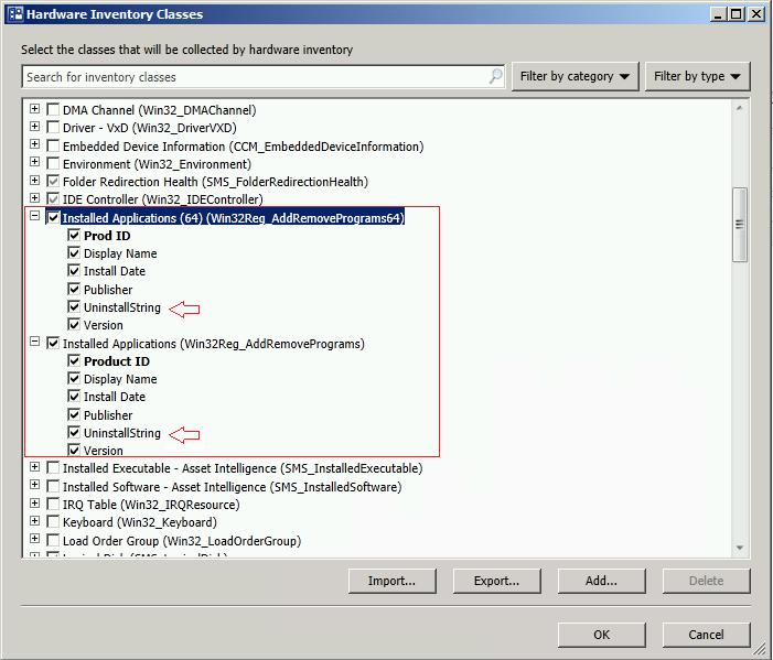 Add UninstallString to Hardware Inventory | Elias Leal - Tech Blog